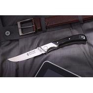 """Нож """"Gentelman"""" IE0K01 черная рукоять, фото 1"""
